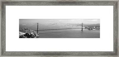 Golden Gate Framed Print by Ralf Kaiser