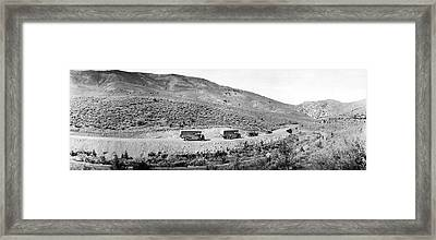 Goodyear Wingfoot Express Framed Print by Underwood Archives