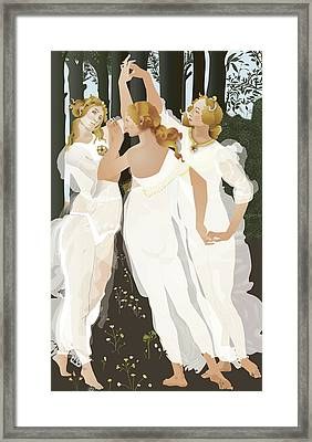 3 Graces Framed Print