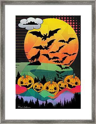 Halloween 10 Framed Print by Mark Ashkenazi