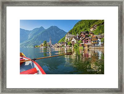 Hallstatt Framed Print by JR Photography