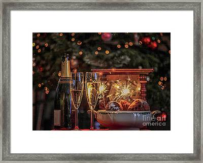 Happy New Year Framed Print by Patricia Hofmeester