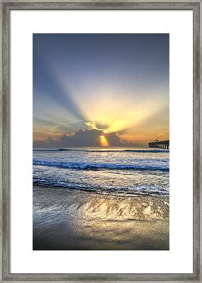 Heaven's Door Framed Print