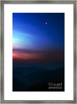 Highland Moon  Framed Print by Thomas R Fletcher