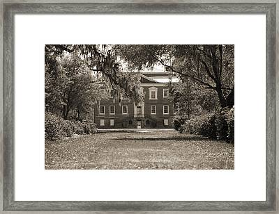 Historic Drayton Hall In Charleston South Carolina Framed Print by Dustin K Ryan