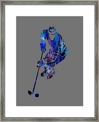 Hockey Collection Framed Print by Marvin Blaine