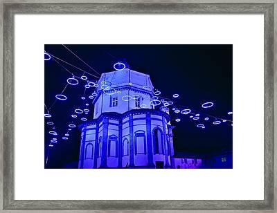 Holiday Lights Framed Print by Carl Jackson