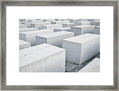 Holocaust Memorial Framed Print