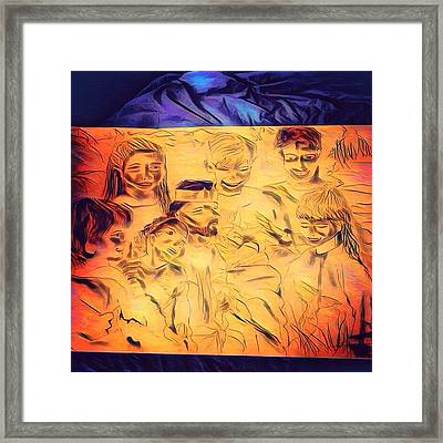 In Heaven With Jesus Framed Print