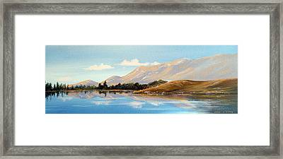 Inagh Valley Reflections Framed Print by Cathal O malley