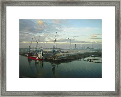 Industrial Framed Print by Svetlana Sewell