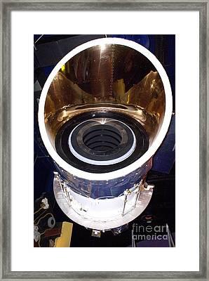 Iras Infrared Astronomy Satellite Framed Print