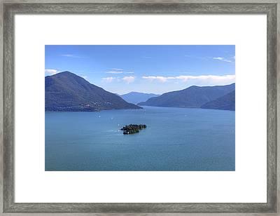 Isole Di Brissago Framed Print