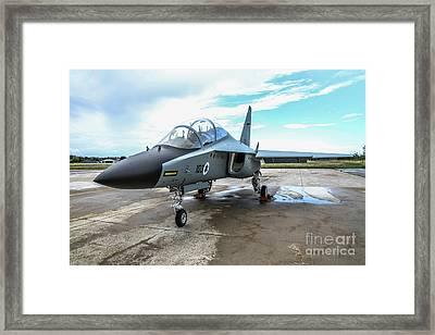 Israeli Air Force Alenia Aermacchi M-346 Master Framed Print by Amos Dor