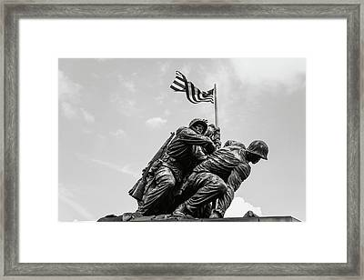 Iwo Jima Washington Dc Framed Print