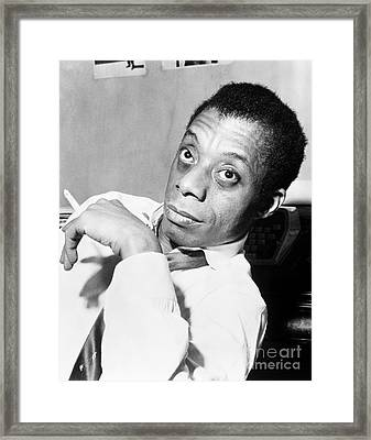 James Baldwin (1924-1987) Framed Print