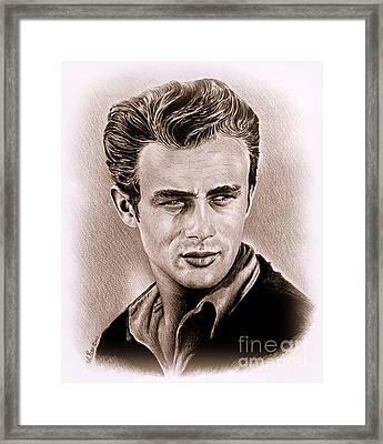 James Dean Framed Print by Andrew Read