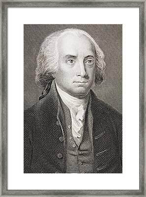 James Madison 1751 - 1836 Fourth Framed Print by Vintage Design Pics