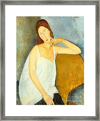Jeanne Hebuterne Framed Print