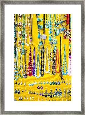 Jewellery Framed Print