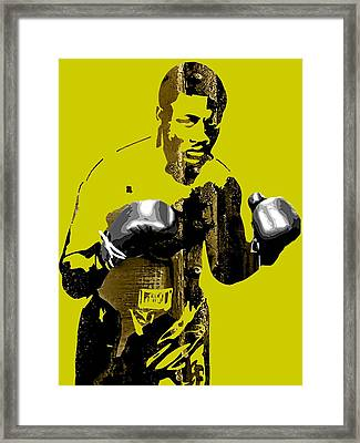 Joe Frazier Collection Framed Print by Marvin Blaine