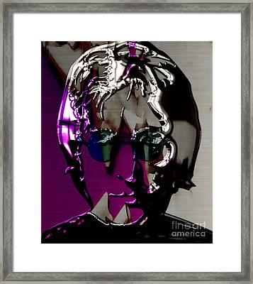 John Lennon Art Framed Print