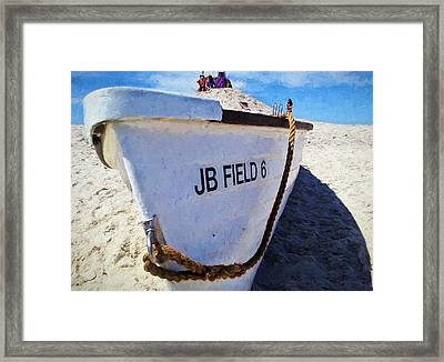 Jones Beach Framed Print