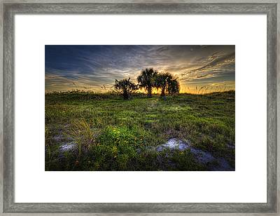 3 Just Beyond Framed Print