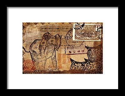 Equatorial Africa Framed Prints