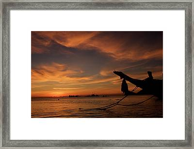 Koh Tao Island In Thailand Framed Print