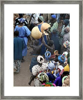Koundou Dogomo 2007 Framed Print by Huib Blom