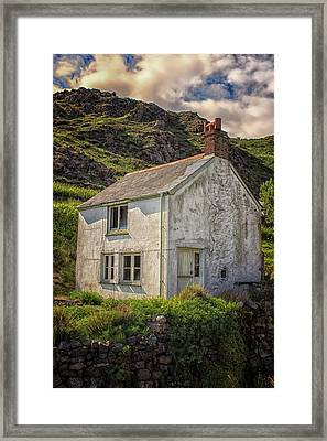 Kynance Cove Framed Print by Martin Newman