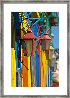 La Boca Framed Print by Kobby Dagan