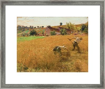 La Moisson Framed Print