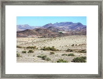 La Pared - Fuerteventura Framed Print