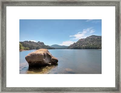 Lac De L'ospedale - Corsica Framed Print