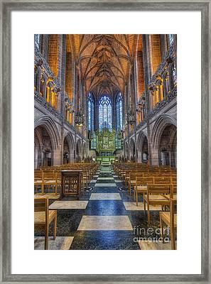 Lady Chapel Framed Print by Ian Mitchell