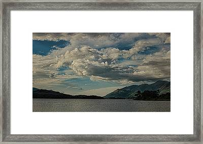 Lake District Framed Print by Martin Newman