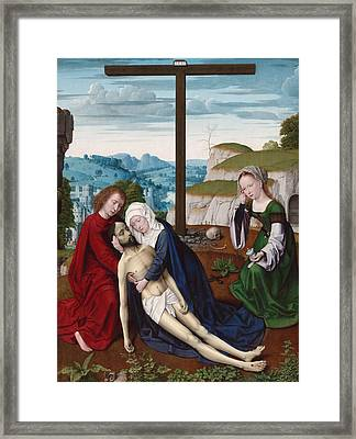 Lamentation Framed Print