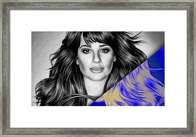 Lea Michele Collection Framed Print