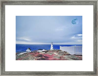 Framed Print featuring the photograph Lighthouse by Artistic Panda