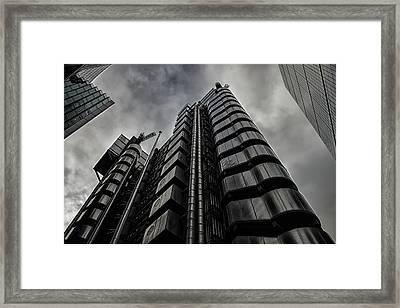 Lloyds Of London Framed Print by Martin Newman