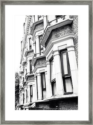 London Houses  Framed Print