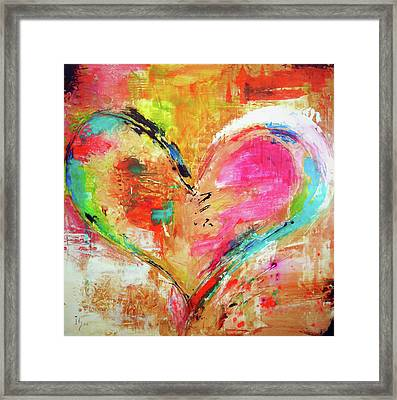 Love Is Divine Framed Print