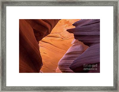 Lower Antelope Canyon Framed Print by Craig Shaknis