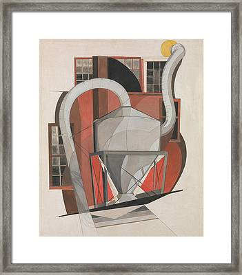 Machinery Framed Print by Charles Demuth