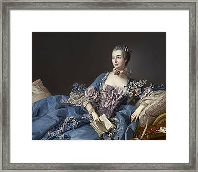 Madame De Pompadour Framed Print by Mountain Dreams