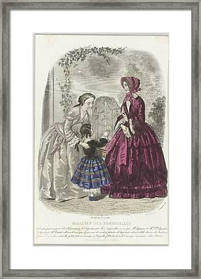 Magasin Des Demoiselles, Framed Print by Celestial Images