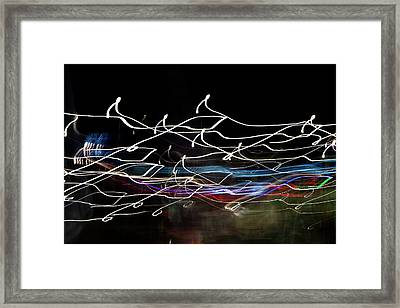 Magic Color Framed Print