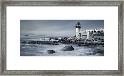 Maine Lighthouse Framed Print
